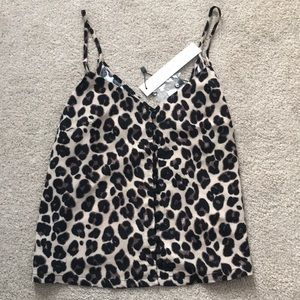 Leopard cami